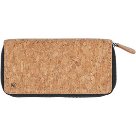 tentree Banker Zip Wallet Dame Cork Fabric